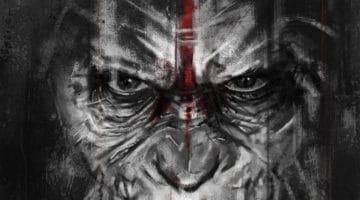 Planet of the Apes Caesar's Vengeance Print