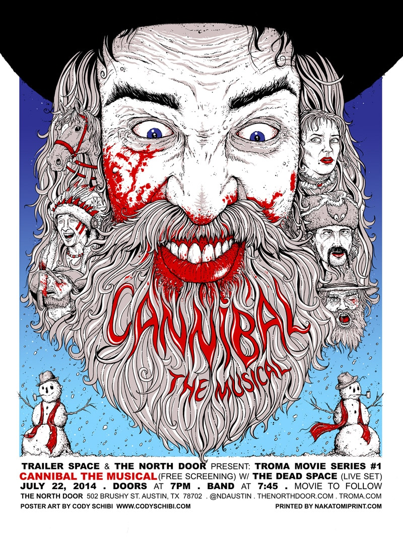 Cannibal The Musical Movie Poster