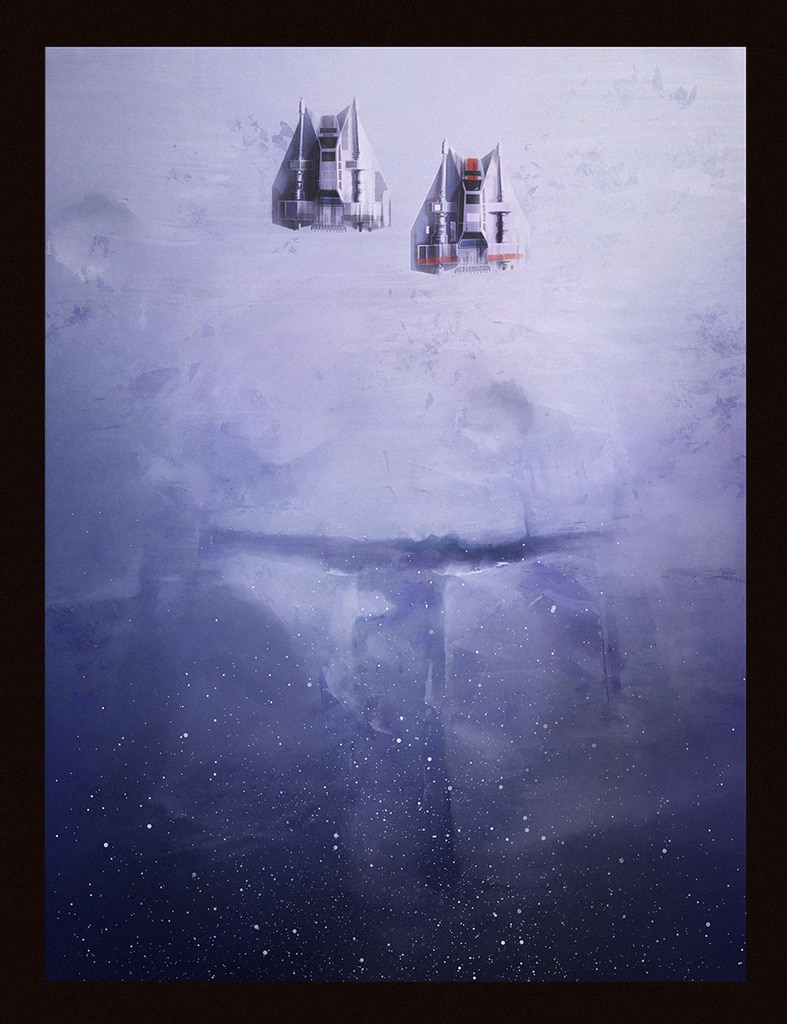 Empire Strikes Back Print by Andy Fairhurst