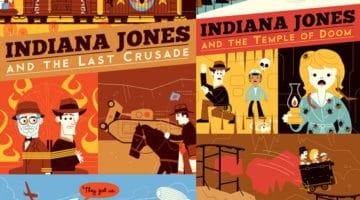 Indiana Jones Prints by Dave Perillo