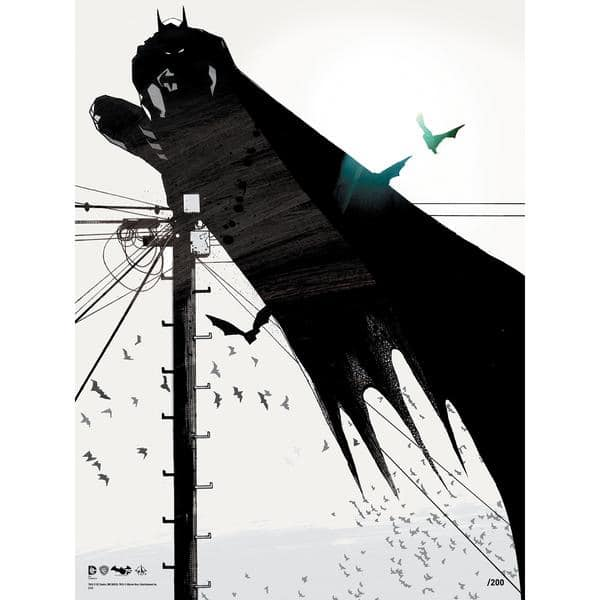 Exclusive Jock Signed Batman Prints