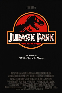 Jurassic Park Theatrical Poster