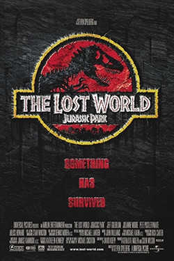 Jurassic Park The Lost World Theatrical Poster