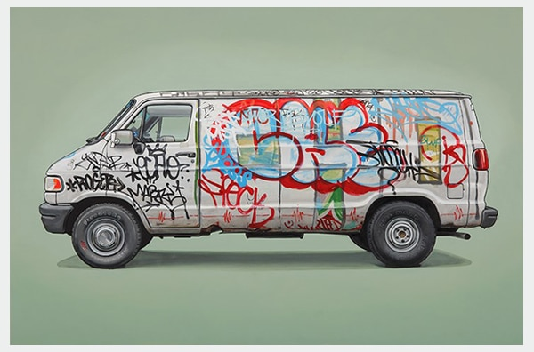 N. Henry Bombed Truck by Kevin Cyr
