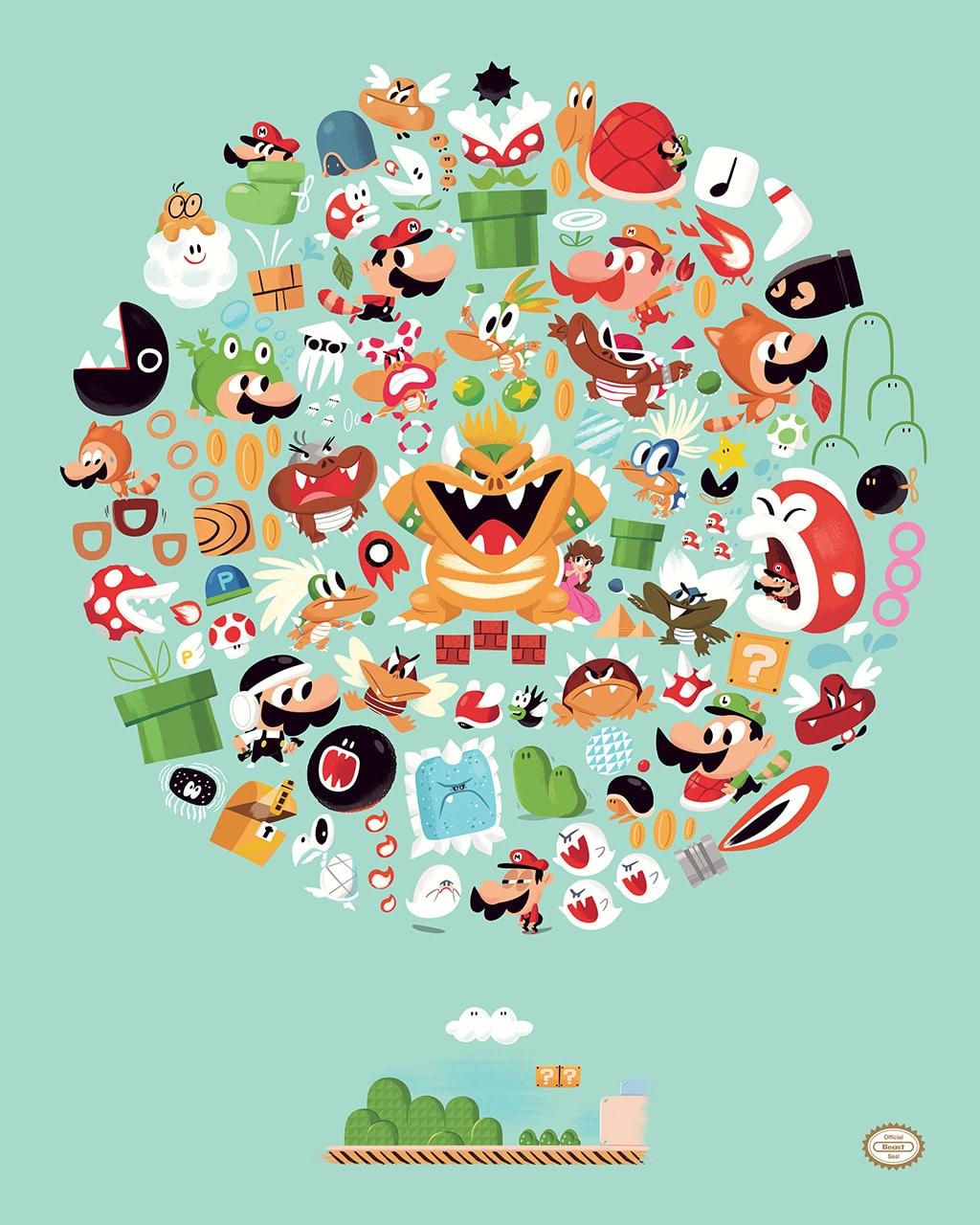 Super Mario Brothers 3 Print