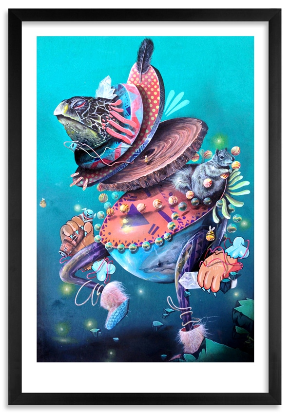 NoseGo Dance with Kachina Print