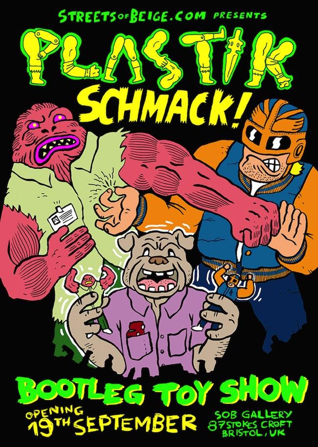 """Plastik Schmack!"" Bootleg Toy Show from SOB"