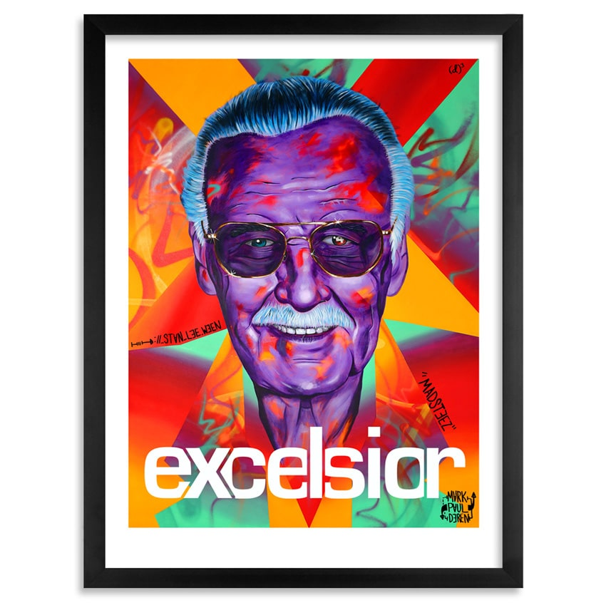 Stan Lee Print by Madsteez