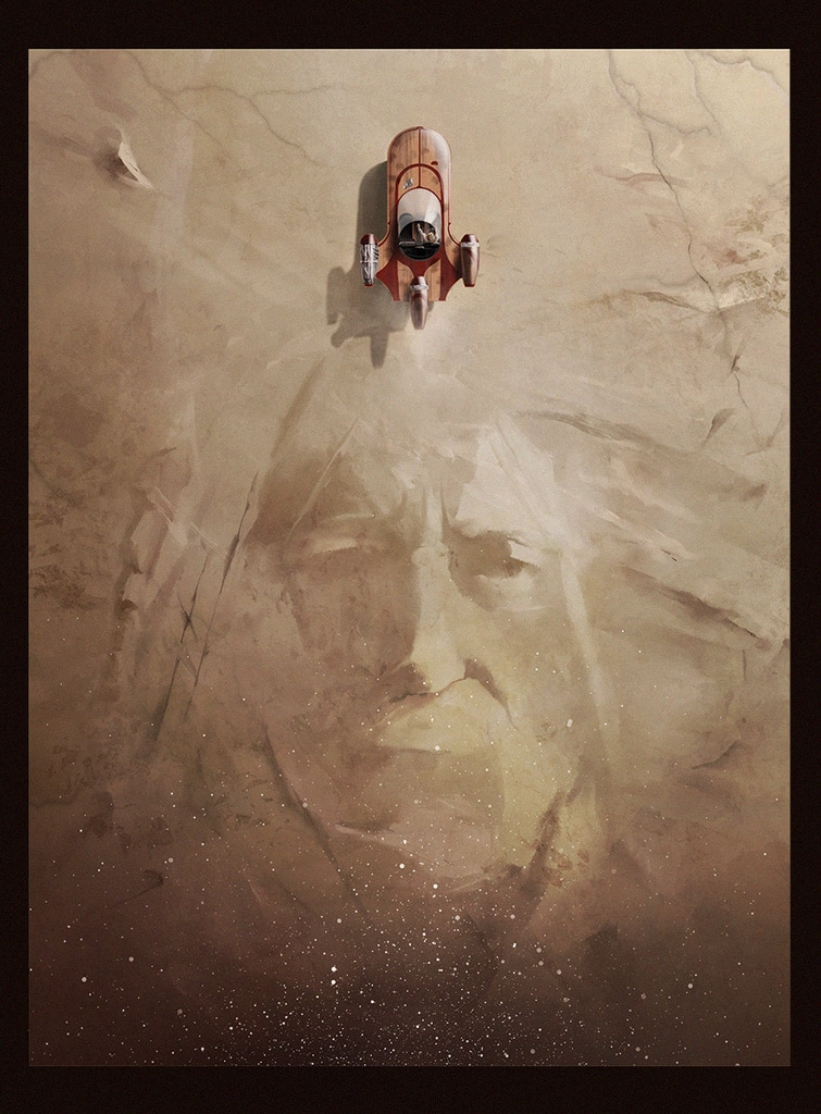 Star Wars Print by Andy Fairhurst
