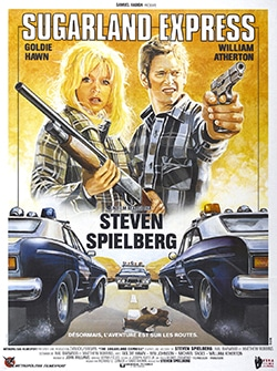 The Sugarland Express Theatrical Poster