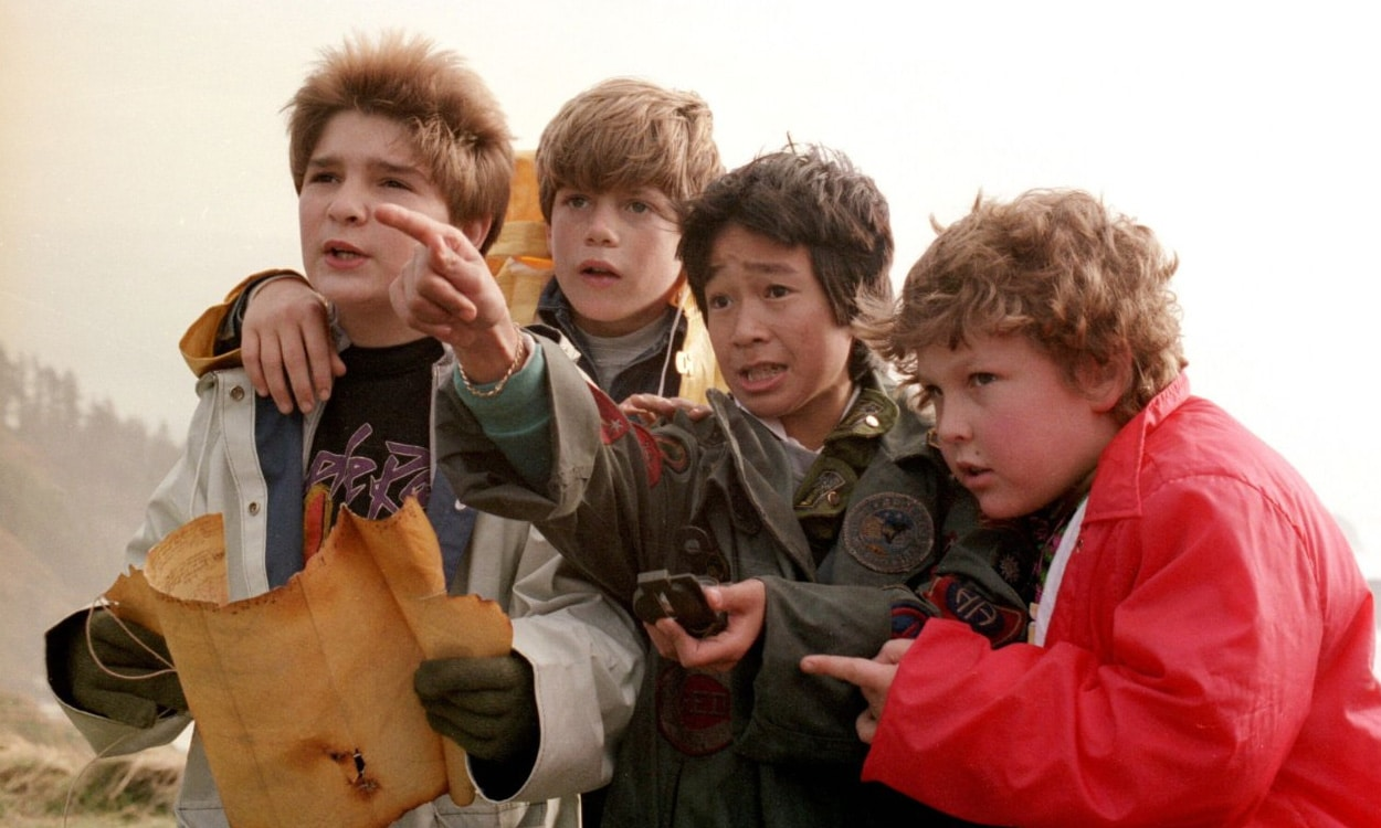 The Goonies on the Beach