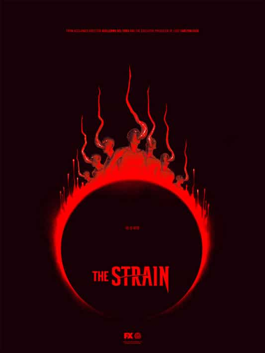 The Strain TV Show Poster Variant