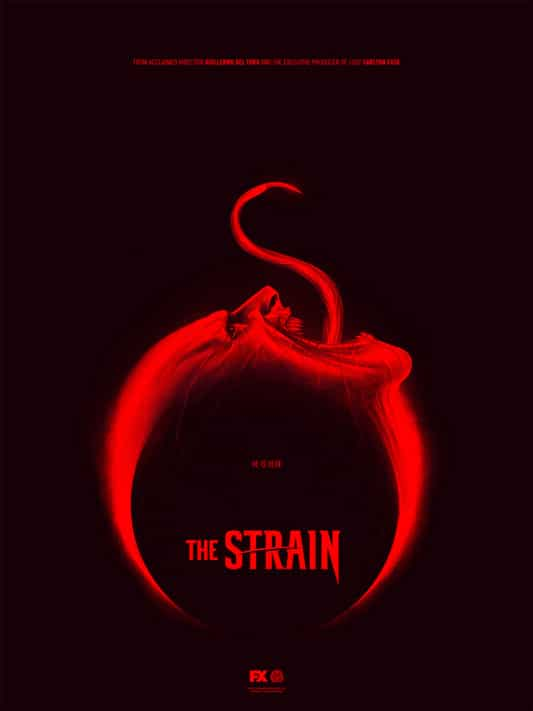 The Strain TV Show Poster