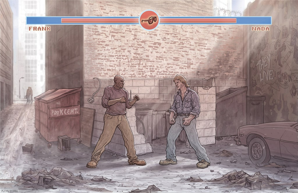 They Live Street Fight Print 1