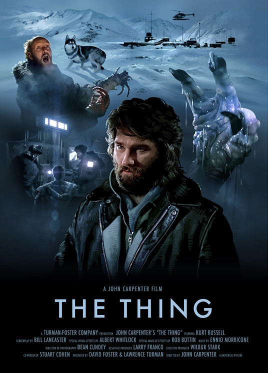 The Thing Poster Print