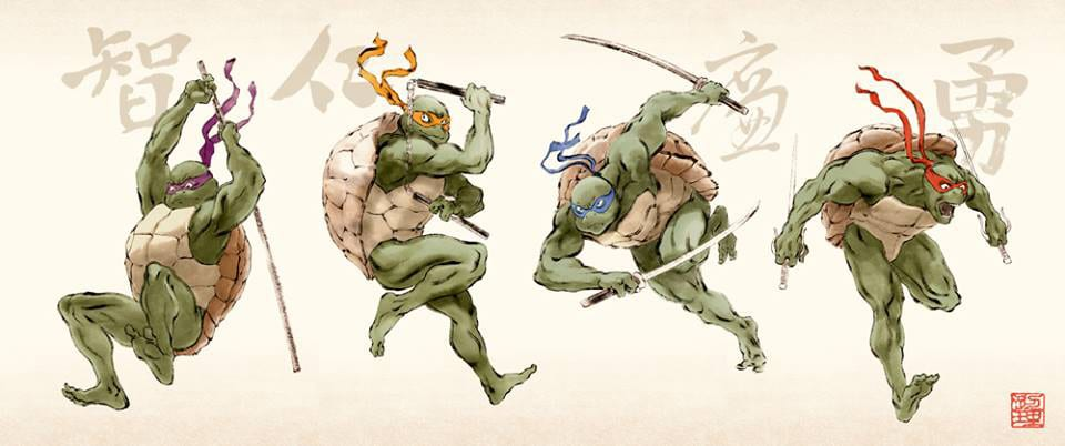 TMNT Gallery Nuclues Tribute Art 5