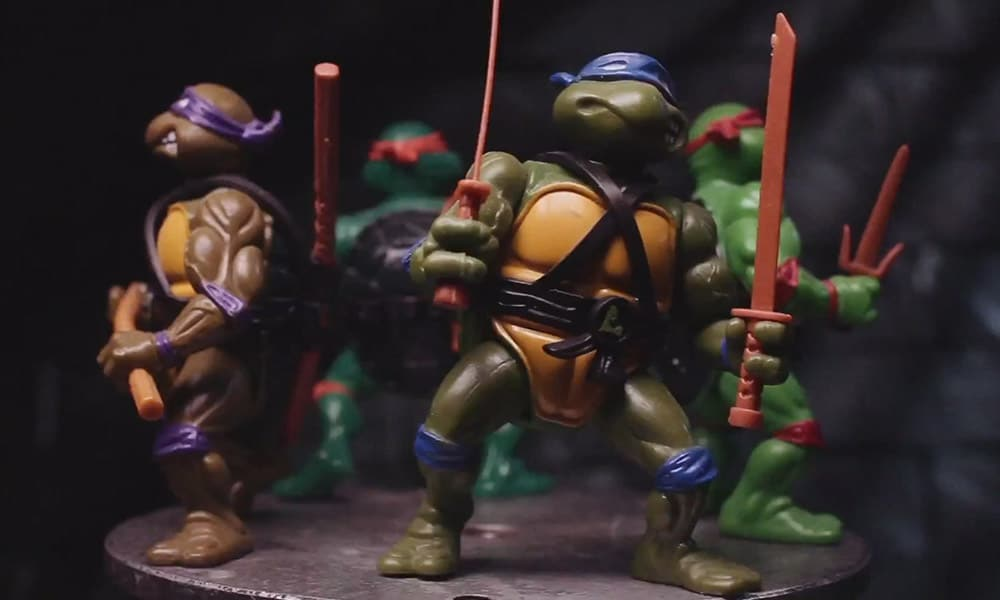 Turtle Power TMNT Action Figures