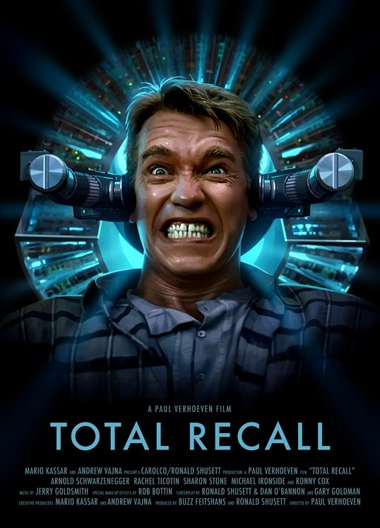 Total Recall Poster Print
