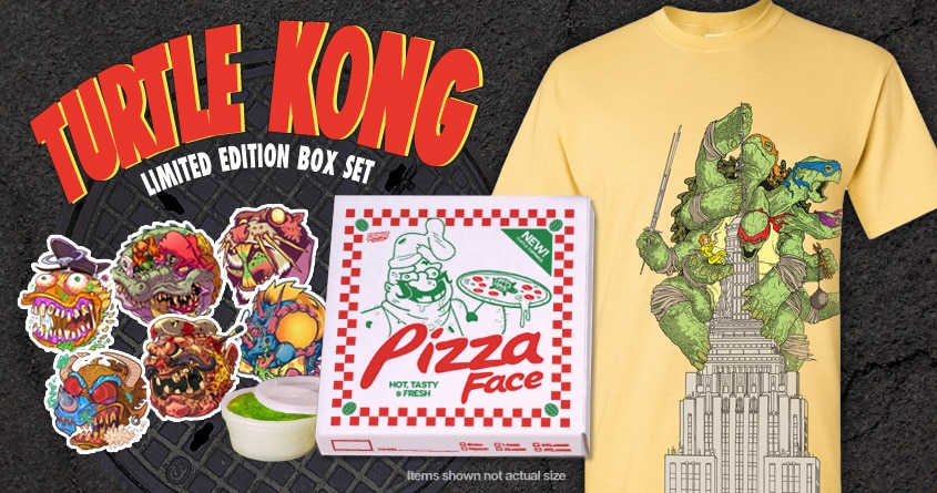 TMNT Turtle Kong Box Set
