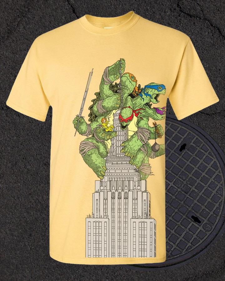 TMNT Turtle Kong Box Set TShirt