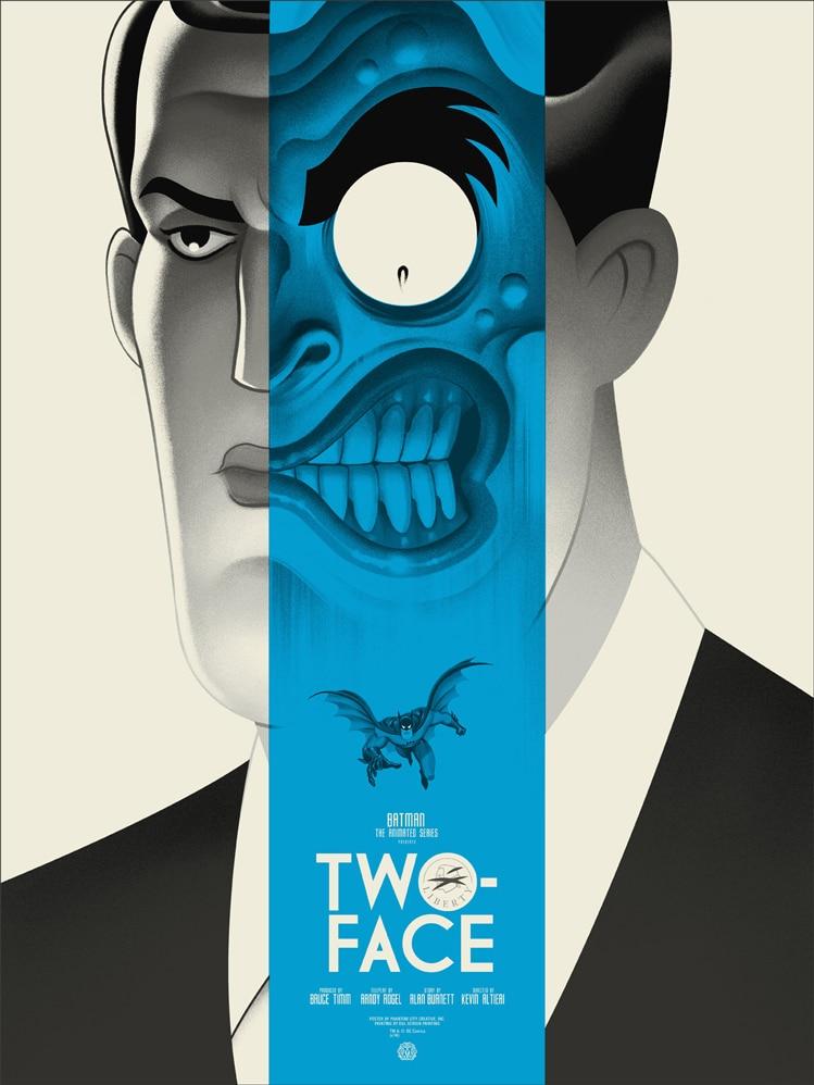 Batman: TAS Two Face Poster