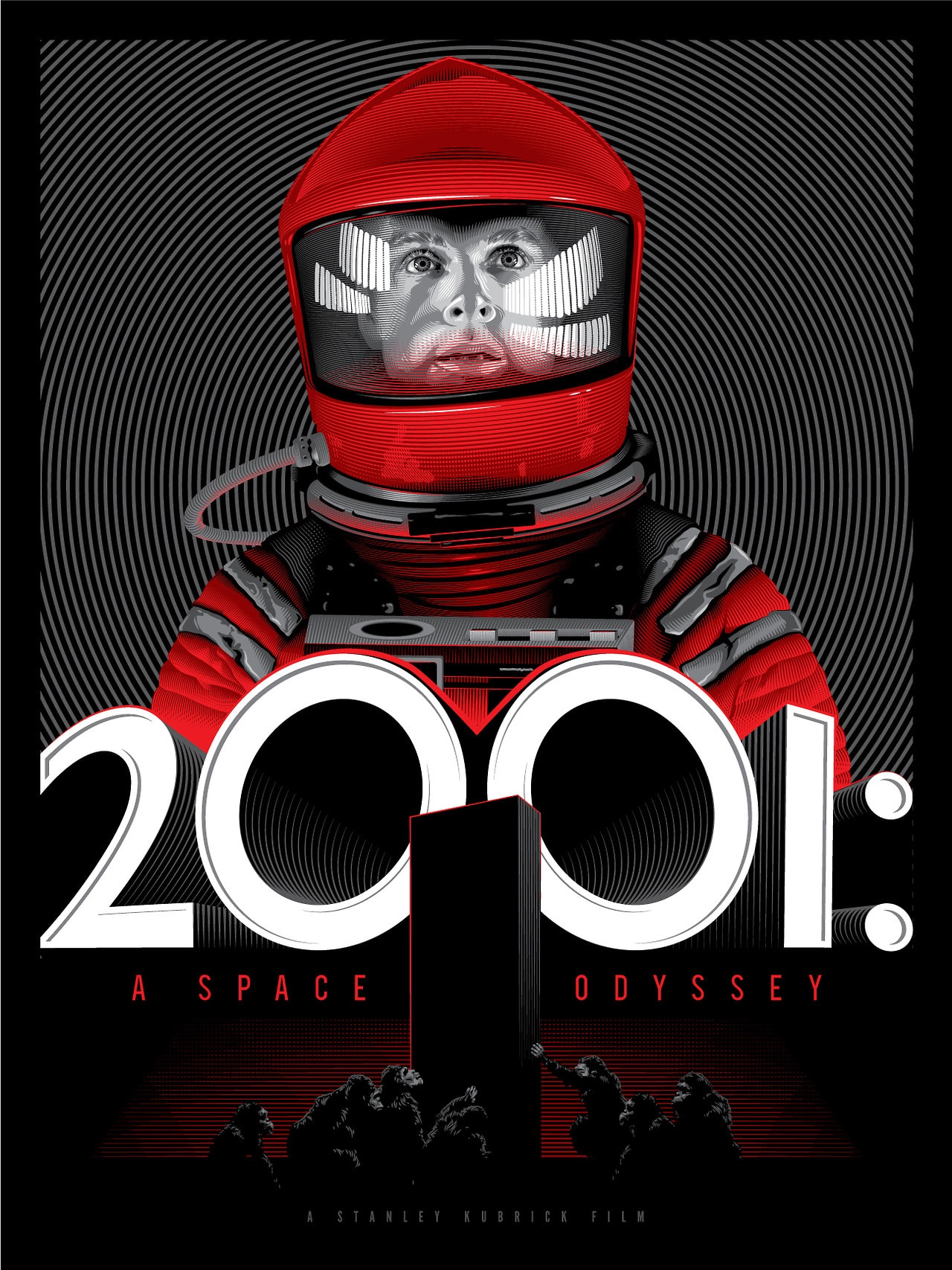 2001 Space Odyssey Movie Poster