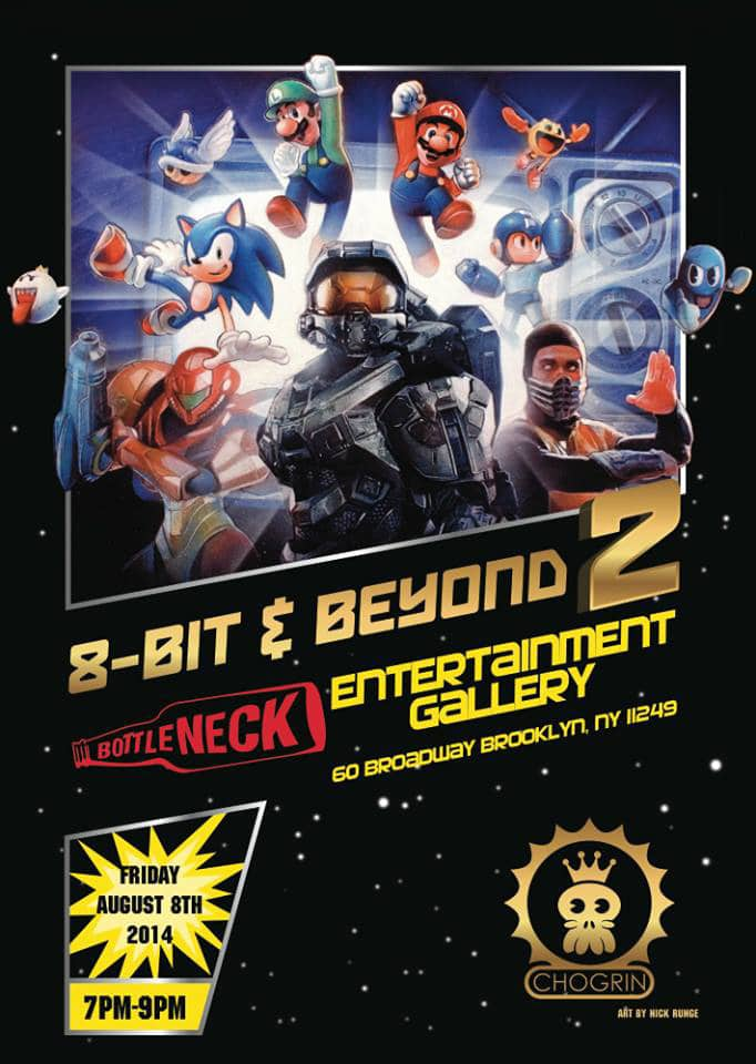 8-bit and Beyond Video Game Art Show