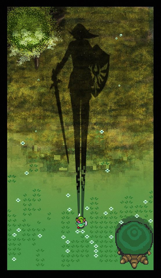 Andy Fairhurst Zelda Print