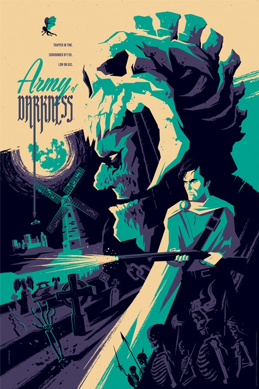 Army of Darkness Movie Poster Print 4