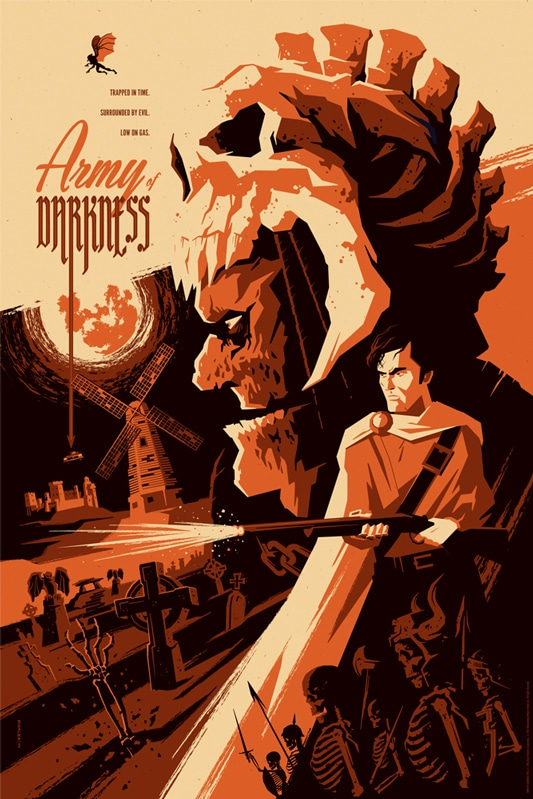 Army of Darkness Movie Poster Print 3
