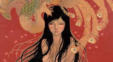 """""""Hirari Hirari"""" Art Show Featuring Audrey Kawasaki"""