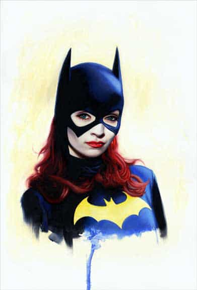 Bat Girl Print by David Stoupakis