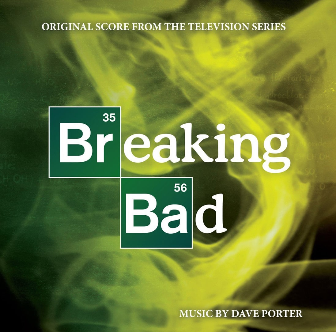 Breaking Bad Blue Meth Soundtrack LP
