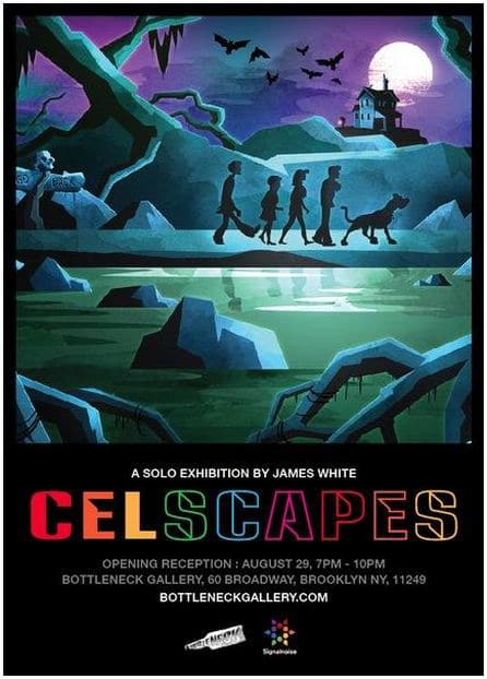 Celscapes James White Solo Art Exhibit