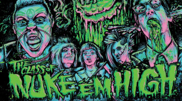 Class of Nuke 'Em High Original Soundtrack LP