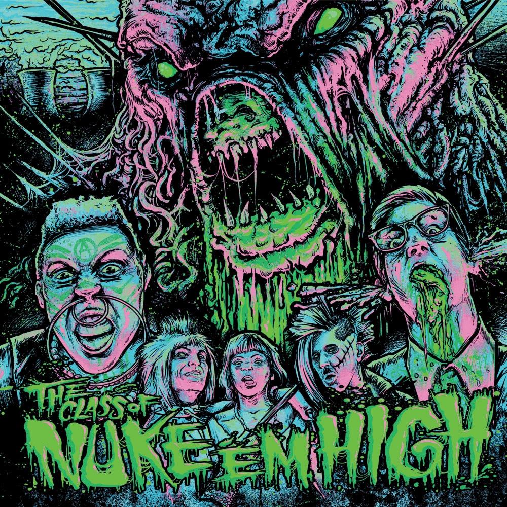 Class of Nuke 'Em High Original Soundtrack LP