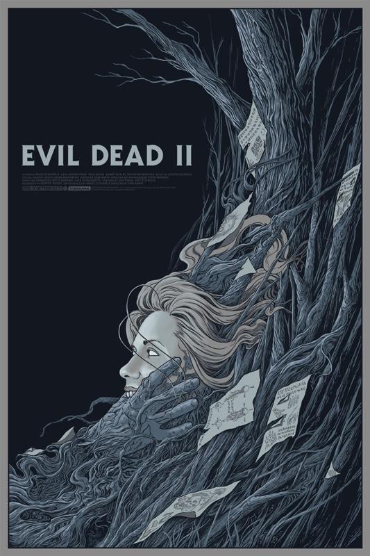Evil Dead 2 Movie Poster Print 1