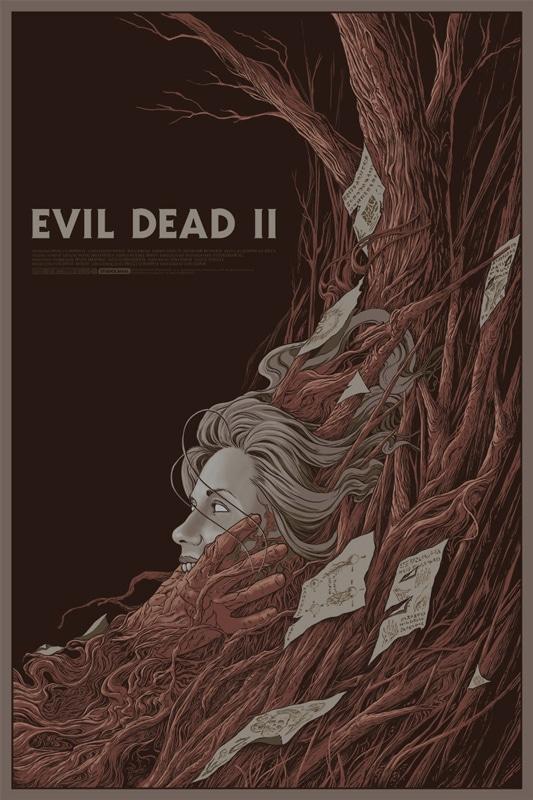 Evil Dead 2 Movie Poster Print 2