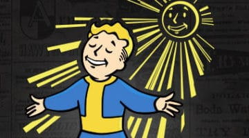 Fallout Vaultboy Solar Powered T-Shirt