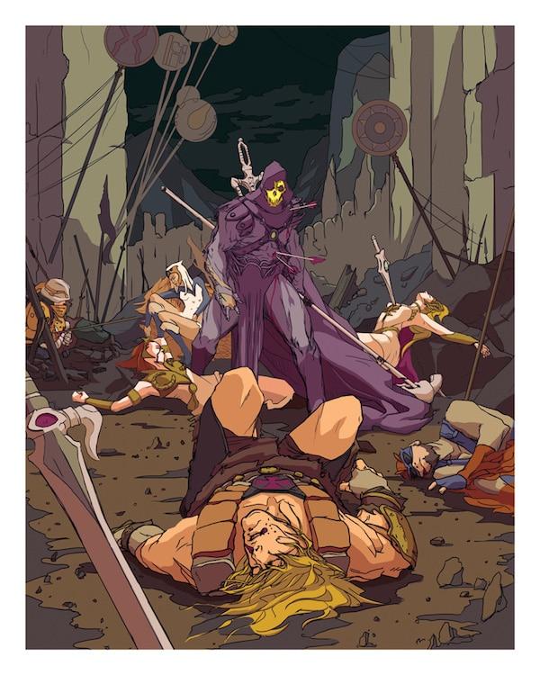 He-Man Print
