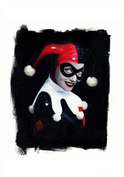 Harley Quinn Print by David Stoupakis