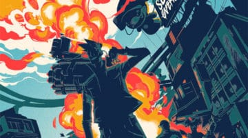 Heavy Metal and Sunset Overdrive Prints