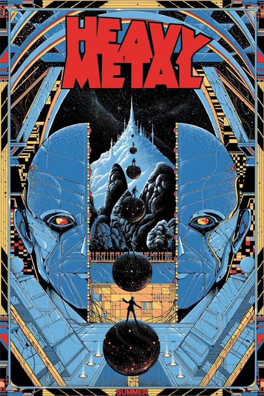 Heavy Metal Print