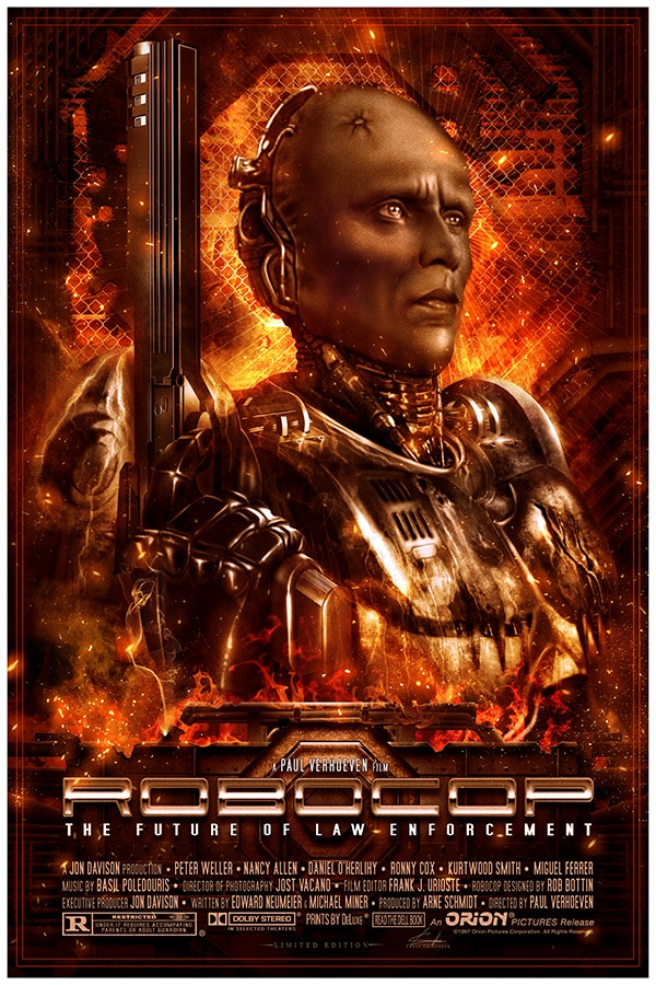 Robocop Print Burning