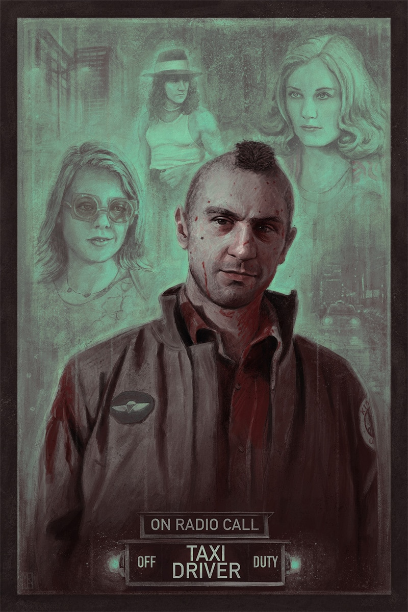 Taxi Driver Movie Poster Print 2