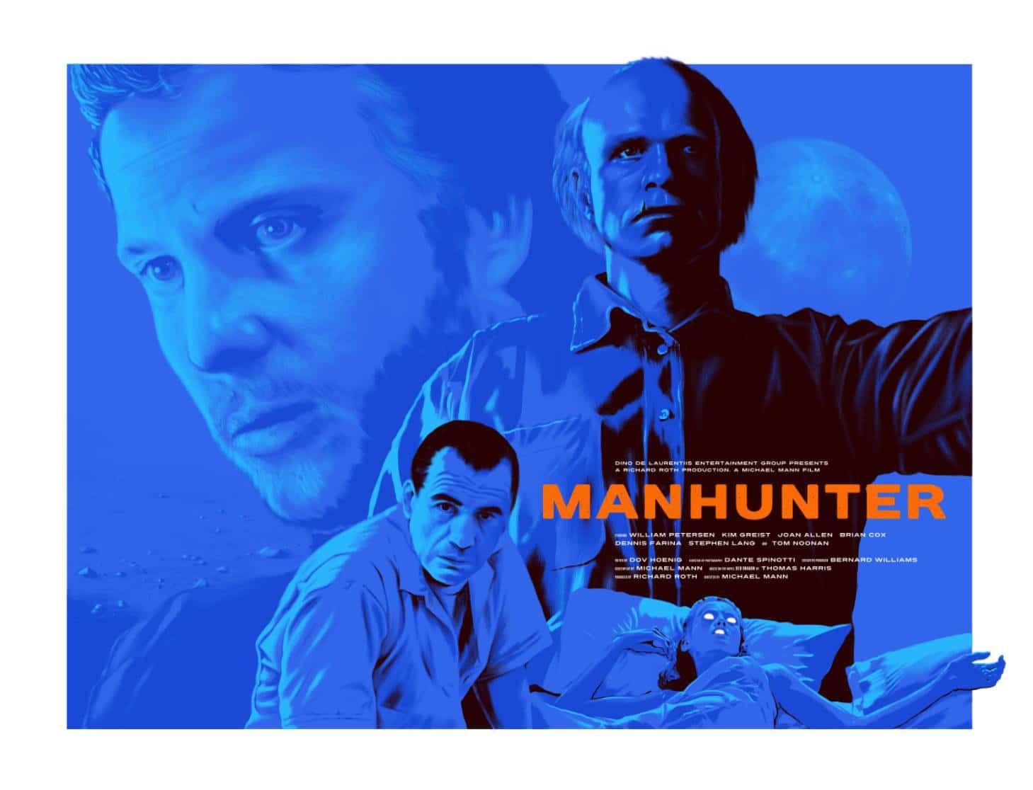 Manhunter Movie Poster Print