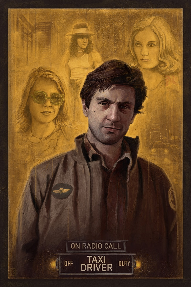 Taxi Driver Movie Poster Print 1