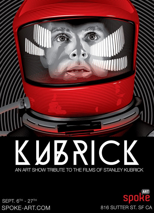Stanley Kubrick Tribute Art Show from Spoke Art