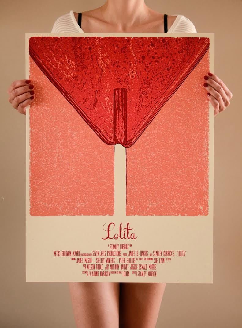 Lolita Movie Print