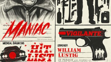 Maniac Cop Movie Poster from Spoke Art